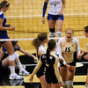 "University of Colorado freshman Nikki Lindow yells with excitement after defeating the University of Kansas on Saturday, Sept. 25, in a volleyball match at the Coors Events Center on the CU Boulder campus. CU defeated Kansas 25-23.25-23,13-25,22-25,15-13.<br /> For photo gallery go to  <a href=""http://www.dailycamera.com"">http://www.dailycamera.com</a><br /> Jeremy Papasso/ Camera"