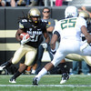 "D.D. Goodson running back kicks in the Oregon game.<br /> For more photos of the game, go to  <a href=""http://www.dailycamera.com"">http://www.dailycamera.com</a>.<br /> October 22, 2011 / Cliff Grassmick"