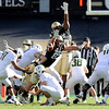 "University of Colorado's Will Pericak, No. 83, tries to block an extra point from Oregon's Alejandro Maldonado on Saturday, Oct. 22, during a football game against the University of Oregon at Folsom Field in Boulder. CU lost the game 45-2. For more photos go to  <a href=""http://www.dailycamera.com"">http://www.dailycamera.com</a><br /> Jeremy Papasso/ Camera"