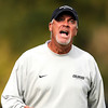 "University of Colorado Head Coach Bill Hempen yells at the referee before getting a red card on Sunday, Oct. 16, during a soccer game against Oregon State at Prentup Field on the CU campus in Boulder. For more photos of the game go to  <a href=""http://www.dailycamera.com"">http://www.dailycamera.com</a><br /> Jeremy Papasso/ Camera"