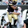 "Christian Powell  of CU gets short yardage against Stanford.<br /> For more photos of the game, go to  <a href=""http://www.dailycamera.com"">http://www.dailycamera.com</a>.<br /> Cliff Grassmick / November3, 2012"
