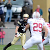 "Jordan Webb throws an interception to Ed Reynolds of Stanford.<br /> For more photos of the game, go to  <a href=""http://www.dailycamera.com"">http://www.dailycamera.com</a>.<br /> Cliff Grassmick / November3, 2012"