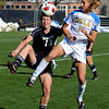 "Kate Russell, left, of CU, and Sarah Killion of UCLA, fight for possession of the ball.<br /> For more photos of the game, go to  <a href=""http://www.dailycamera.com"">http://www.dailycamera.com</a>.<br /> Cliff Grassmick / October 28, 2011"