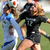 "Chelsea Stewart, left, of UCLA, and Carly Bolyard of CU, battle for the ball.<br /> For more photos of the game, go to  <a href=""http://www.dailycamera.com"">http://www.dailycamera.com</a>.<br /> Cliff Grassmick / October 28, 2011"