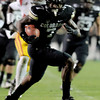 """Toney Clemons scores CU's first TD on this play.<br /> For more photos of CU and USC, go to  <a href=""""http://www.dailycamera.com"""">http://www.dailycamera.com</a>.<br /> November 4, 2011 / Cliff Grassmick"""