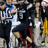 "Tyler Hansen scrambles for a big gain against USC.<br /> For more photos of CU and USC, go to  <a href=""http://www.dailycamera.com"">http://www.dailycamera.com</a>.<br /> November 4, 2011 / Cliff Grassmick"