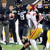 "Darragh O'Neill punting in the USC game.<br /> For more photos of CU and USC, go to  <a href=""http://www.dailycamera.com"">http://www.dailycamera.com</a>.<br /> November 4, 2011 / Cliff Grassmick"