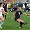 "Anne Stuller of CU takes a shot past Nykell Seymour of Utah on Friday.<br /> For more photos from the game, go to  <a href=""http://www.dailycamera.com"">http://www.dailycamera.com</a>..<br />  Cliff Grassmick / November 2, 2012"