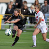 "Madison Krauser of CU passes to Shaye Marshall, who scores a goal on Utah. Jenny Hutton of Utah is on the right.<br /> For more photos from the game, go to  <a href=""http://www.dailycamera.com"">http://www.dailycamera.com</a>..<br />  Cliff Grassmick / November 2, 2012"