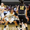 "University of Colorado's Chucky Jeffery looks to steal the ball from Valparaiso's Laura Richards on Friday, Nov. 25, during a basketball game against Valparaiso University at the Coors Event Center on the CU campus in Boulder. For more photos of the game go to  <a href=""http://www.dailycamera.com"">http://www.dailycamera.com</a><br /> Photo by Jeremy Papasso"