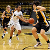 "University of Colorado's Chucky Jeffery passes the ball on Friday, Nov. 25, during a basketball game against Valparaiso University at the Coors Event Center on the CU campus in Boulder. For more photos of the game go to  <a href=""http://www.dailycamera.com"">http://www.dailycamera.com</a><br /> Photo by Jeremy Papasso"