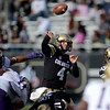 "Jordan Webb of CU passes against Washington on Saturday.<br /> For more photos of the CU game, go to  <a href=""http://www.dailycamera.com"">http://www.dailycamera.com</a><br /> Cliff Grassmick / November 17, 2012"