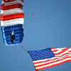 """Mile High Skydiving dropped in for the National Anthem on Saturday.<br /> For more photos of the CU game, go to  <a href=""""http://www.dailycamera.com"""">http://www.dailycamera.com</a><br /> Cliff Grassmick / November 17, 2012"""