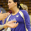 "University of Washington's Evan Sanders shakes hands with the University of Colorado team at the end of the volleyball game on Saturday, Nov. 19, at the Coors Event Center on the CU campus in Boulder. For more photos of the game go to  <a href=""http://www.dailycamera.com"">http://www.dailycamera.com</a><br /> Jeremy Papasso/ Camera"