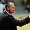 "Tad Boyle of CU  encourages the Buffs against Oklahoma State.<br /> For more photos of the game, go to  <a href=""http://www.dailycamera.com"">http://www.dailycamera.com</a>.<br /> Cliff Grassmick / January 15, 2011"