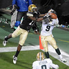 "Toney Clemons of CU tries to make this catch on the last play of the game as Chance Casey of Baylor defends. The catch could have scored the game winning score with the extra point.<br /> For more photos of the game, go to  <a href=""http://www.dailycamera.com"">http://www.dailycamera.com</a><br /> Cliff Grassmick / October 16, 2010"