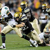 "University of Colorado tailback Rodney Stewart dives in for a touchdown in the second quarter of the football game against Baylor on Saturday, Oct. 16, at Folsom Field in Boulder.<br /> For more photos go to  <a href=""http://www.dailycamera.com"">http://www.dailycamera.com</a><br /> Photo by Jeremy Papasso/ Camera"