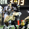 Paul Richardson takes off with a pass against Baylor.<br /> Cliff Grassmick / October 16, 2010