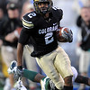 "Travon Patterson of CU comes close to scoring on this play against Baylor.<br /> For more photos of the game, go to  <a href=""http://www.dailycamera.com"">http://www.dailycamera.com</a><br /> Cliff Grassmick / October 16, 2010"