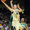 "Meagan Malcolm-Peck of CU gets past Ashley Field of Baylor.<br /> For more photos of the game, go to  <a href=""http://www.dailycamera.com"">http://www.dailycamera.com</a>.<br /> Cliff Grassmick / March 5, 2011"