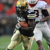 "Brian Lockridge of CU against Georgia.<br /> For more photos from the game go to  <a href=""http://www.dailycamera.com"">http://www.dailycamera.com</a>.<br /> Cliff Grassmick / October 2, 2010"