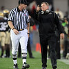 "Dan Hawkins has some words for the official in the Georgia game.<br /> For more photos from the game go to  <a href=""http://www.dailycamera.com"">http://www.dailycamera.com</a>.<br /> Cliff Grassmick / October 2, 2010"