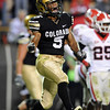 "Rodney Stewart of CU celebrates a TD against Georgia.<br /> For more photos from the game go to  <a href=""http://www.dailycamera.com"">http://www.dailycamera.com</a>.<br /> Cliff Grassmick / October 2, 2010"