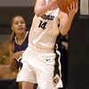 Meagan Malcolm-Peck of CU rebounds against Georgia Southern on Friday.<br /> <br /> Cliff Grassmick /November 27, 2009