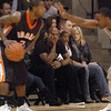"Former Buff and current Nugget, Chauncey Billups, watches the Buffs play Idaho State.<br /> For more photos of the game, go to  <a href=""http://www.dailycamera.com"">http://www.dailycamera.com</a><br /> Cliff Grassmick / November 12, 2010"