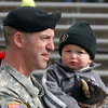 "Lieutenant Colonel, John Toth, was on the CU sidelines with his son, Ethan, during the game against Iowa State.<br /> For more photos of the game, go to  <a href=""http://www.dailycamera.com"">http://www.dailycamera.com</a><br /> Cliff Grassmick / November 13, 2010"