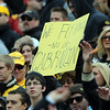 "CU fans show support for Brian Cabral on Saturday.<br /> For more photos of the game, go to  <a href=""http://www.dailycamera.com"">http://www.dailycamera.com</a><br /> Cliff Grassmick / November 13, 2010"