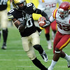 "Paul Richardson of CU had some big catches against Iowa State.<br /> For more photos of the game, go to  <a href=""http://www.dailycamera.com"">http://www.dailycamera.com</a><br /> Cliff Grassmick / November 13, 2010"