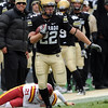 "Arthur Jaffee of CU on a long kick return against Iowa State.<br /> For more photos of the game, go to  <a href=""http://www.dailycamera.com"">http://www.dailycamera.com</a><br /> Cliff Grassmick / November 13, 2010"