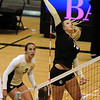 """Nikki Lindow of CU  hits against Kansas State on Wednesday.<br /> For more photos from the game, go to  <a href=""""http://www.dailycamera.com"""">http://www.dailycamera.com</a>.<br />  Cliff Grassmick / September 22, 2010"""