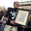 "Cody Hawkins wins the Buffalo Heart Award for the 2010 season.<br /> For more photos of the game, go to  <a href=""http://www.dailycamera.com"">http://www.dailycamera.com</a>.<br /> Cliff Grassmick / November 20, 2010"