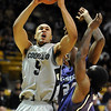 "Marcus Relphorde of CU drives hard to the basket against Kansas State on Saturday. For more photos of the game, go to  <a href=""http://www.dailycamera.com"">http://www.dailycamera.com</a>.<br /> Cliff Grassmick / January 16, 2010"