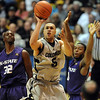 Marcus Relphorde of CU gets in close late in the game against KSU.<br /> Cliff Grassmick / January 16, 2010
