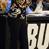 "CU women's basketball coach Kathy McConnell-Miller watches the action in the Kansas State game.<br /> For more  photos of the game, go to  <a href=""http://www.dailycamera.com"">http://www.dailycamera.com</a>.<br /> Cliff Grassmick / March 3, 2010"