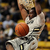 "Shannon Sharpe of CU  dunks in the UMES game.<br /> For more photos of the game, go to  <a href=""http://www.dailycamera.com"">http://www.dailycamera.com</a>.<br /> Cliff Grassmick / December 29, 2010"