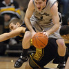 Nate Tomlinson gets a steal from Justin Stafford of Missouri.<br /> Cliff Grassmick / February 6, 2010