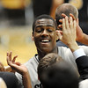 "Alec Burks of CU is happy about the upset win over Missouri on Saturday.<br /> For more photos of the game, go to  <a href=""http://www.dailycamera.com"">http://www.dailycamera.com</a>.<br /> Cliff Grassmick / January 8, 2011"