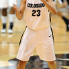 Chucky Jeffery of CU gets excited after a big play late in the win against Missouri.<br /> Cliff Grassmick / January 9, 2010