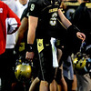 Tyler Hansen  after his third interception againsy Nebraska on Friday.<br /> <br /> Cliff Grassmick /November 27, 2009