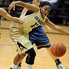 "Ashley Wilson of CU goes after a lose ball against Regis.<br /> For more photos of the game, go to  <a href=""http://www.dailycamera.com"">http://www.dailycamera.com</a><br /> Cliff Grassmick / November 12, 2010"