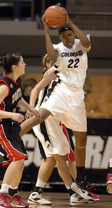Brittany Spears rebounds against S. Utah.  Cliff Grassmick / December 19, 2009
