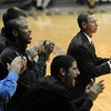 CU coach Jeff Bzdelik at the Texas Southern game.<br /> Cliff Grassmick / November 18, 2009