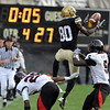 "Paul Richardson (80) of CU tries to make a play during the final seconds of the CU loss to Texas Tech.<br /> For more photos of the game, go to  <a href=""http://www.dailycamera.com"">http://www.dailycamera.com</a>.<br /> Cliff Grassmick / October 23, 2010"