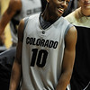 "Alec Burks becomes the all time freshman scorer at CU.<br /> For more basketball photos, go to photo galleries at  <a href=""http://www.dailycamera.com"">http://www.dailycamera.com</a>.<br /> Cliff Grassmick / March 6, 2010"
