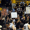 "The CU crowd says goodbye to senior  Dwight Thorne.<br /> For more basketball photos, go to photo galleries at  <a href=""http://www.dailycamera.com"">http://www.dailycamera.com</a>.<br /> Cliff Grassmick / March 6, 2010"