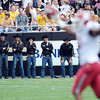 "The Ralphie handlers are upset with the turnover  that clinched the game for Washington State.<br /> For more photos of the CU game, go to  <a href=""http://www.dailycamera.com"">http://www.dailycamera.com</a>.<br />  Cliff Grassmick / October 1, 2011"